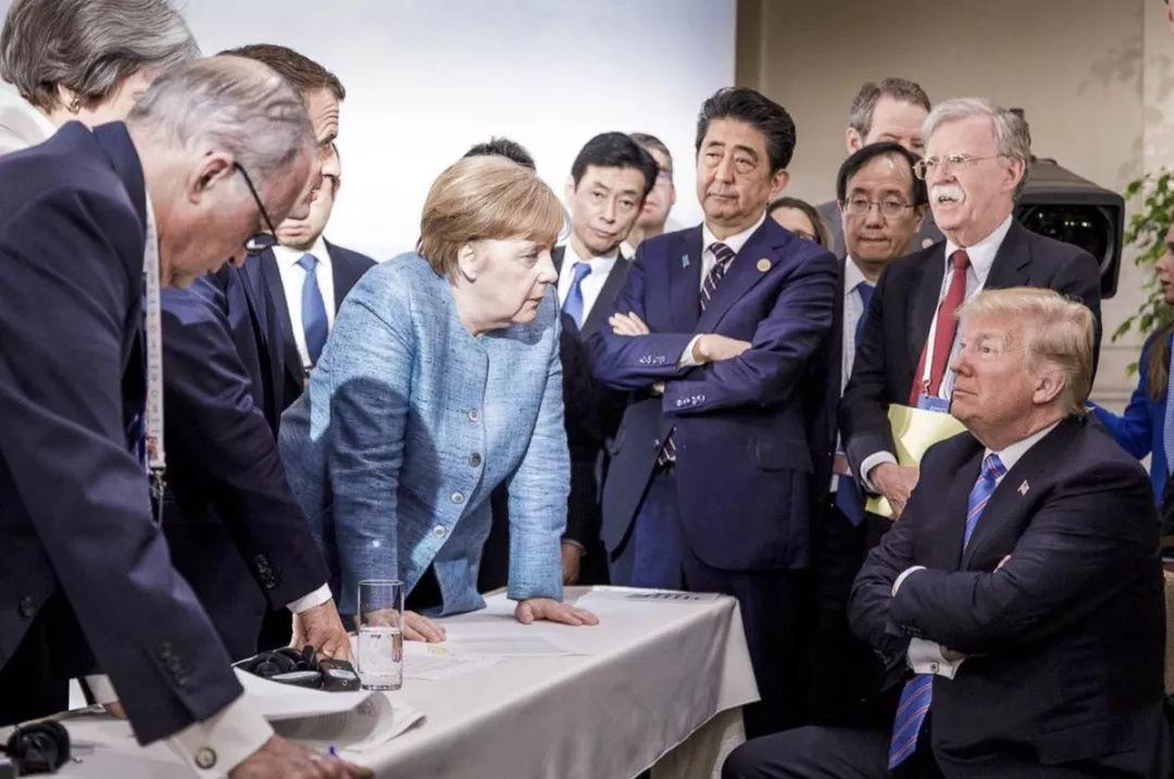 新华社国际观察:分裂的七国 孤立的美国