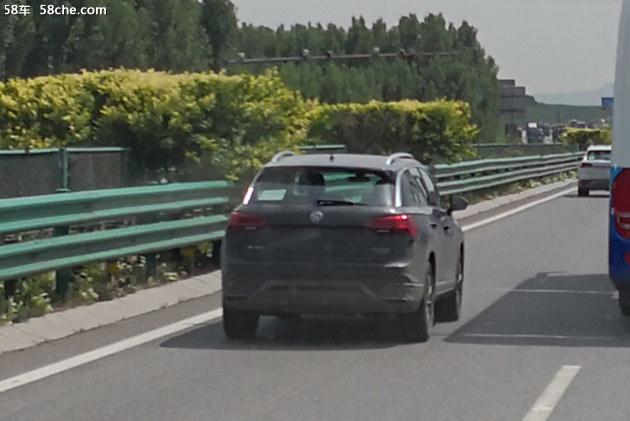 或命名探荣 一汽-大众第2款SUV路试谍照