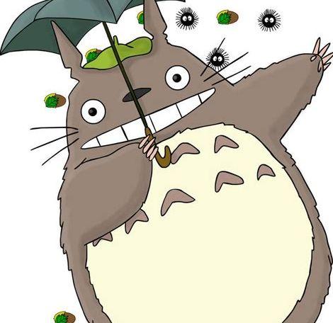 龙猫图鉴-懒人简笔画