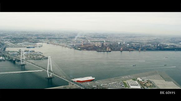 【航拍】日本爱知县 名古屋市 8K60fps