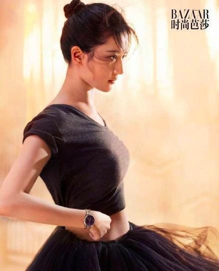 刘亦菲被嘲肥天鹅 登封《时尚芭莎》优雅丰腴