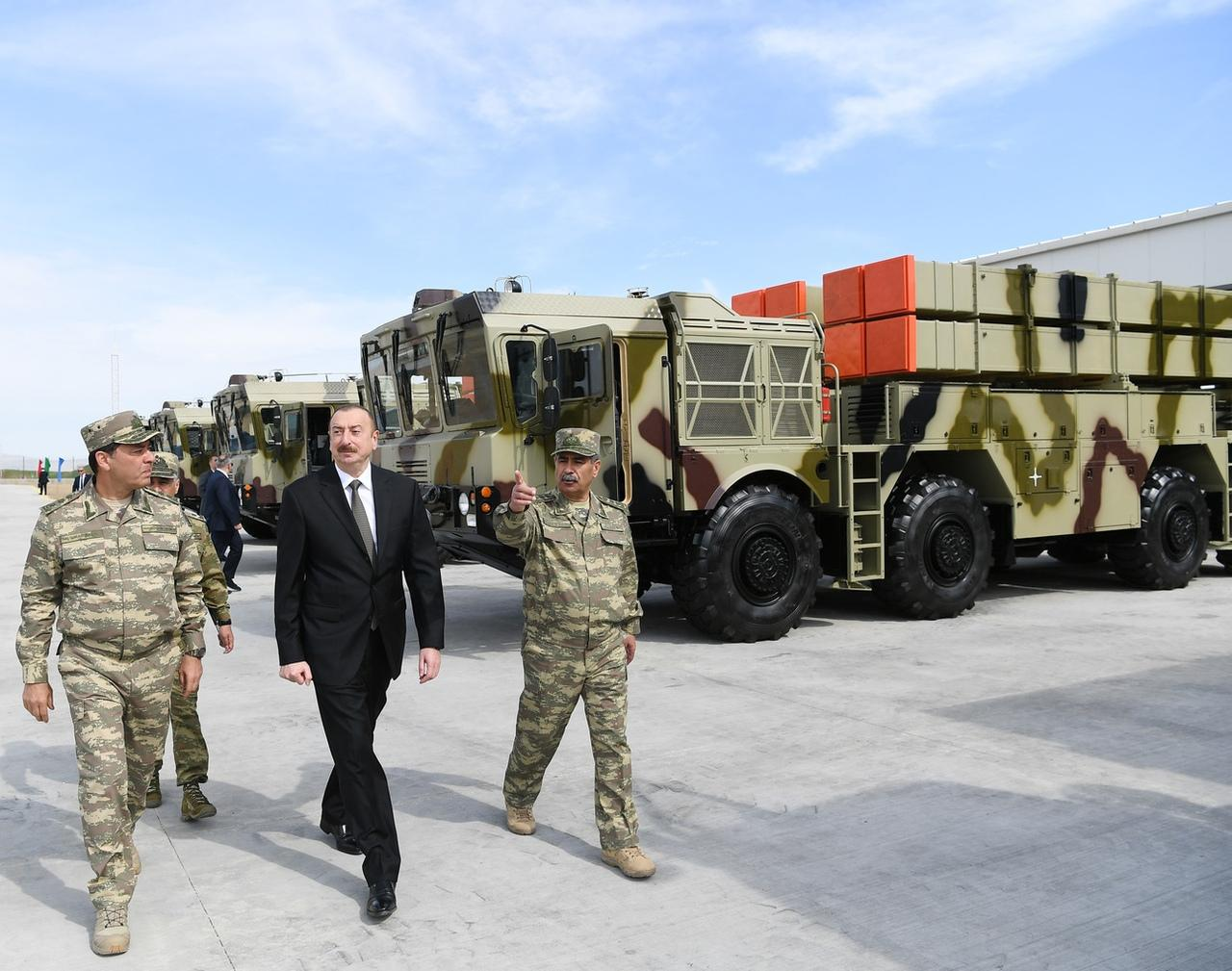 抢中国生意?白俄向阿塞拜疆出口新型远程火箭炮 由中国帮助研发