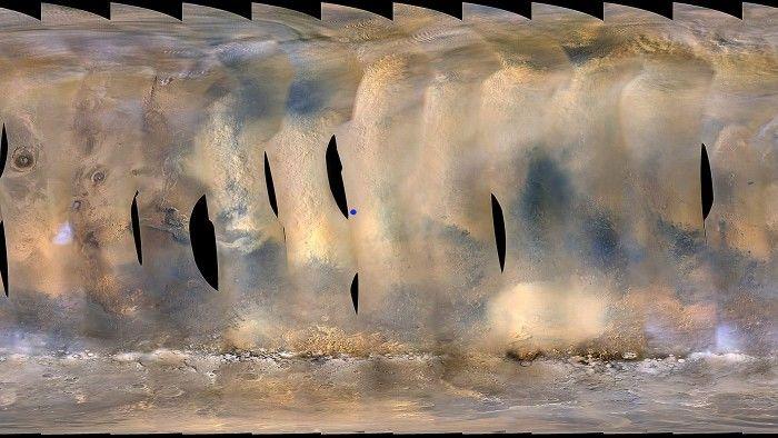 沙尘暴肆虐火星 机遇号科学探索项目暂时中止