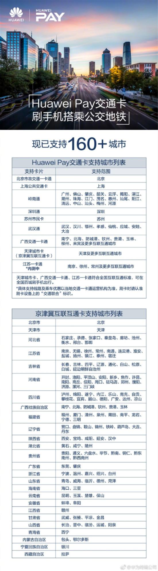 华为pay 移动支付银行已达73家