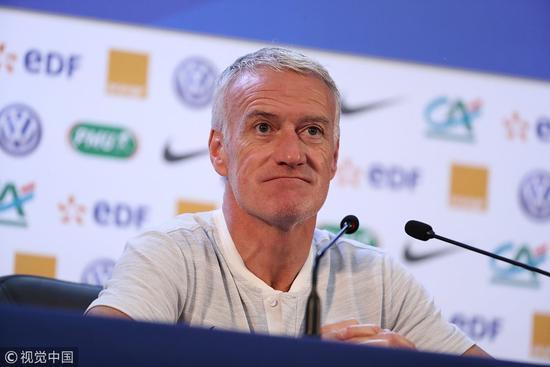 德尚:法国队员都很有个性 球队达到平衡最重要