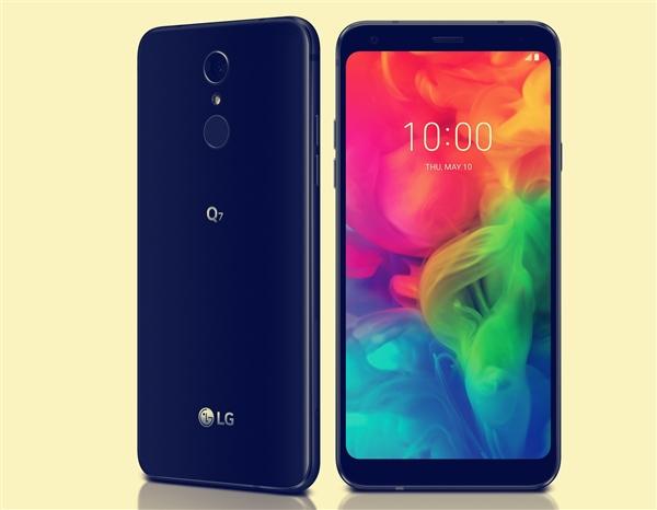 带IP68和NFC的骁龙450手机!LG Q7公布价格:2922元起