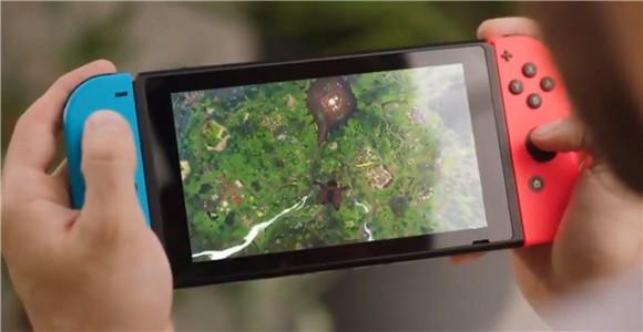 《堡垒之夜》switch版首日下载量超200万次!