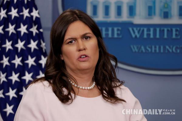 白宫新闻发言人回应年底辞职传闻:我自己都不知道这件事