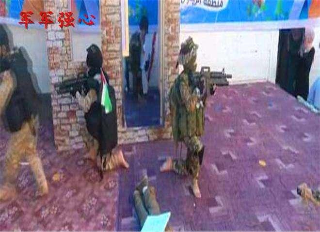 """巴勒斯坦幼儿园搞""""军演"""":打击以色列从儿童开始"""