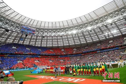 世界杯揭幕战,俄罗斯5:0大胜沙特。