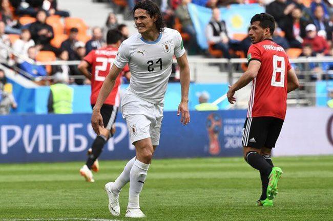 世界杯A组最新积分排名:乌拉圭绝杀埃及,俄罗