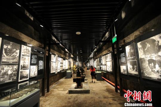 图为重庆建川博物馆集群的兵工署第一工厂旧址博物馆。 韩璐 摄