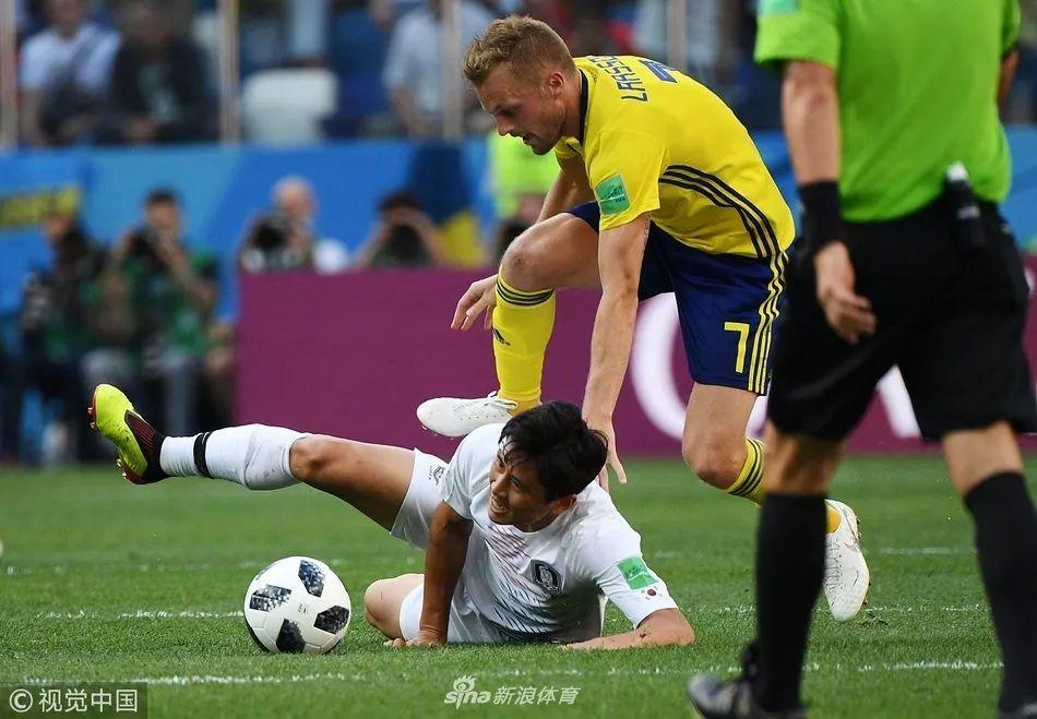 国足1:0韩国,韩国0:1瑞典,我们和瑞典一个水平了吗!