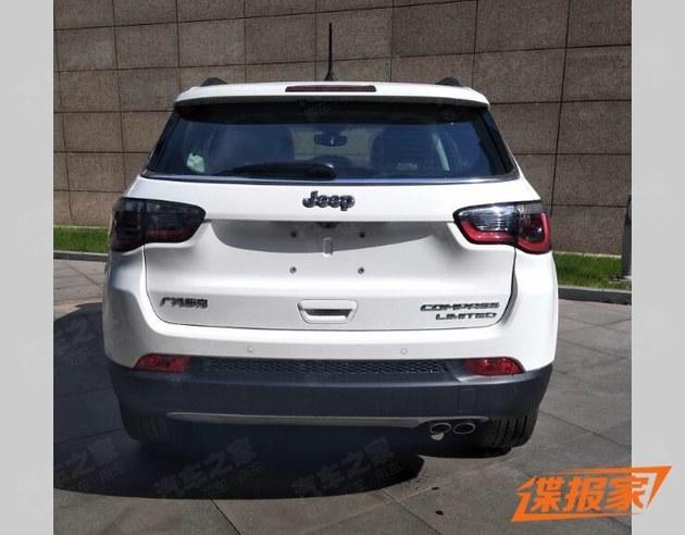 Jeep指南者2.0L车型申报图 增加新选择