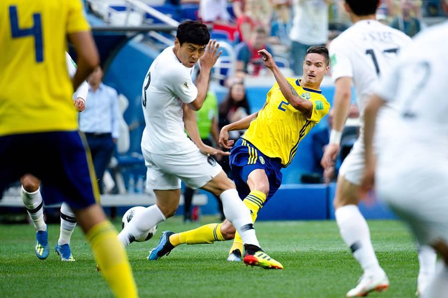 世界杯韩国0—1惜败瑞典 韩国门将屡献神扑难救主