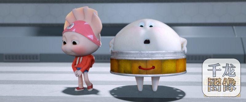 """面粉星球上,脑袋里包着一枚硬币的幸运饺子,却因为这个""""幸运""""而不开心图片"""