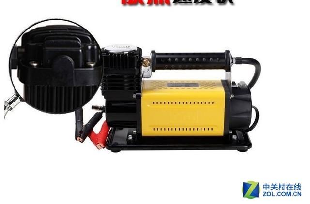 t-max充气泵造型时尚,缸体及散热片经过特殊设计散热快,延长了气泵图片