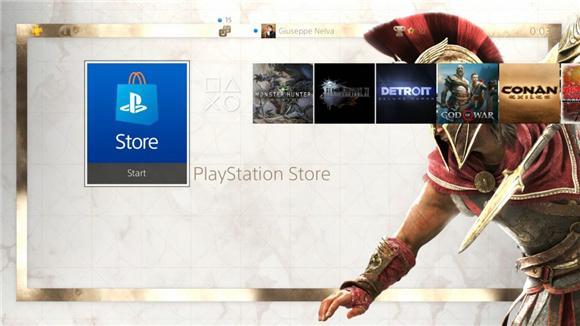 换主题了!《刺客信条 奥德赛》推出免费PS4动态主题