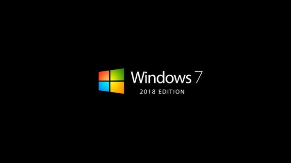 民间大神设计Win7 2018概念版:视效更现代化