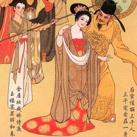 可是自古红颜多薄命,在安禄山起兵反抗后,大唐军民认为杨贵妃是个