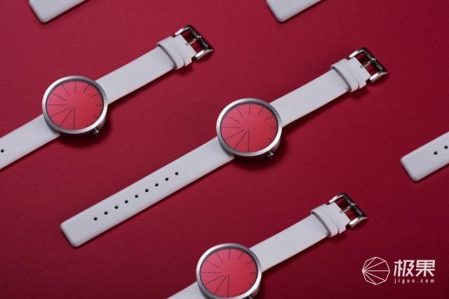 连指针都没有的手表:时尚又简约,灵感来自纽约