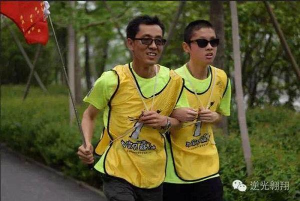 """上海盲童高考623分 独立自主绰号""""淡定哥"""""""