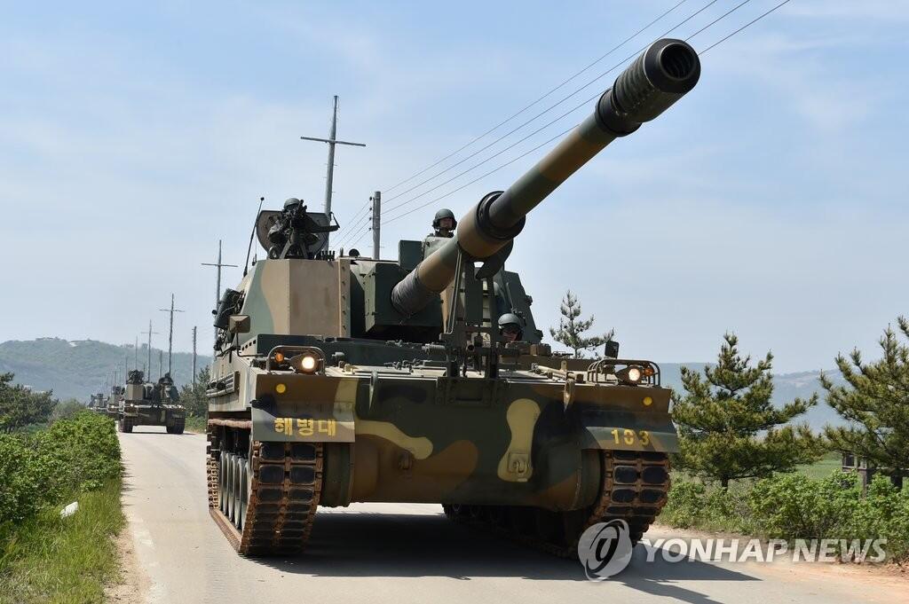 韩媒:韩国叫停西北岛屿实弹射击训练