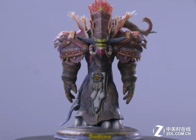 《WOW》推出3D打印服务 定制专属雕像