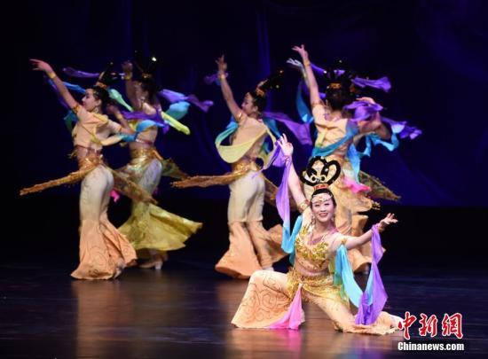 """资料图片:""""感知中国-中国西部文化美国行""""系列活动。"""