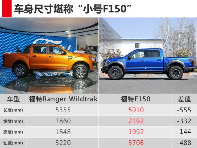 福特Ranger高端皮卡开卖 配四驱系统-售30.58万-图4