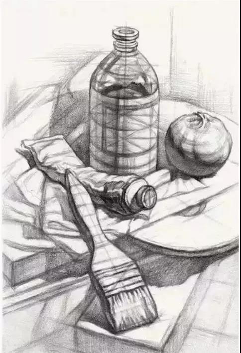 ▼ 物体的透视 该圆则圆 该方则方 罐子口的透视结构图应该是 上面的