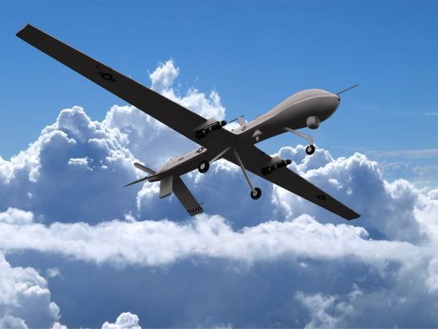 谁干的?大批不明飞行物刚刚袭击俄军基地,所有目标被当场摧毁