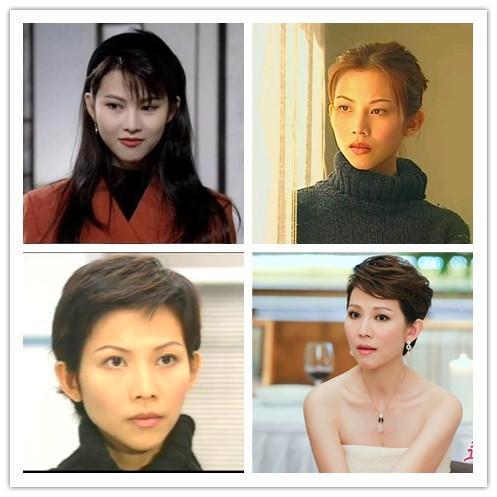 昔日TVB美女花旦,有的样貌变化大有的颜值更高了