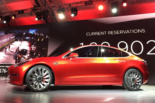 特斯拉目前已生产4.1万辆Model 3 不及预订量10%