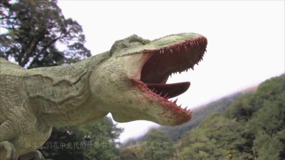 日本超逼真的仿真霸王龙,一出场就要吃人!