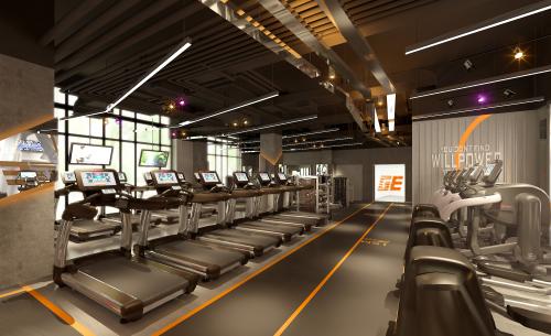 乐享24H智能健身,GE快健身上海又增一店