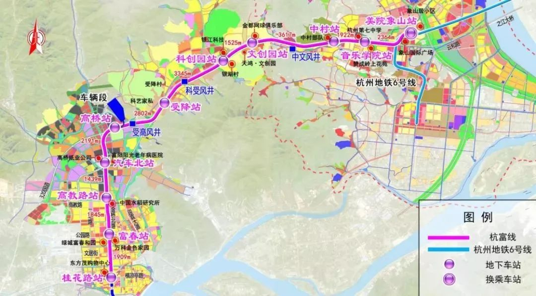【社会】杭州富阳城际铁路最新消息来了!11个站点有变化图片