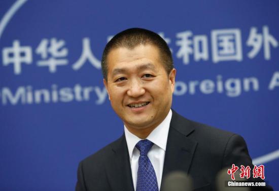 资料图:中国外交部第29任发言人陆慷。中新社发 刘关关 摄