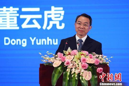 上海市政协主席董云虎致辞。 张亨伟 摄