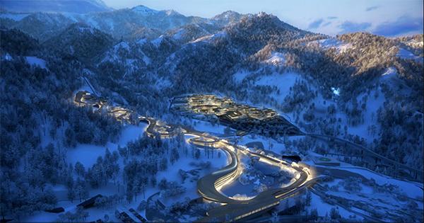 冬奥会!北京2022年延庆赛区核心区规划出炉