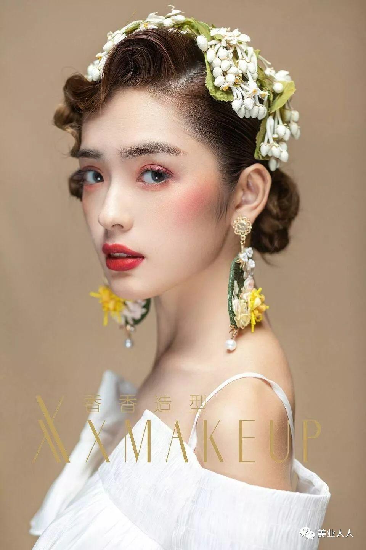 浪漫发型做2018最美新娘!