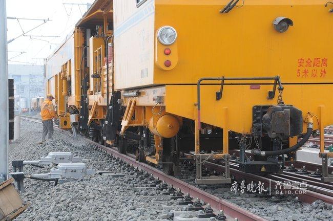 济青高铁淄博北站站线将于7月中旬建成