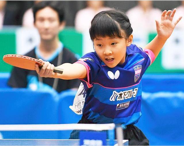 张本美和首秀以小打大拿季军 国乒小将包揽4冠