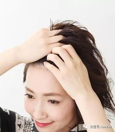 斜刘海短发怎么扎好看,变得更加有魅力!