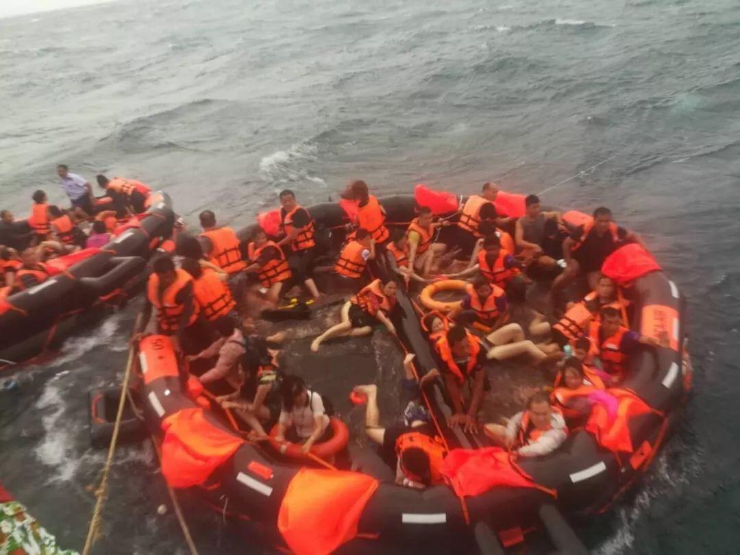 快讯:泰国普吉岛翻船事故,海宁18名游客仍下落不明