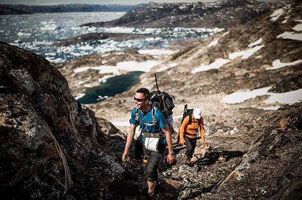 在东格陵兰岛,向着世界上最空旷的风景而行