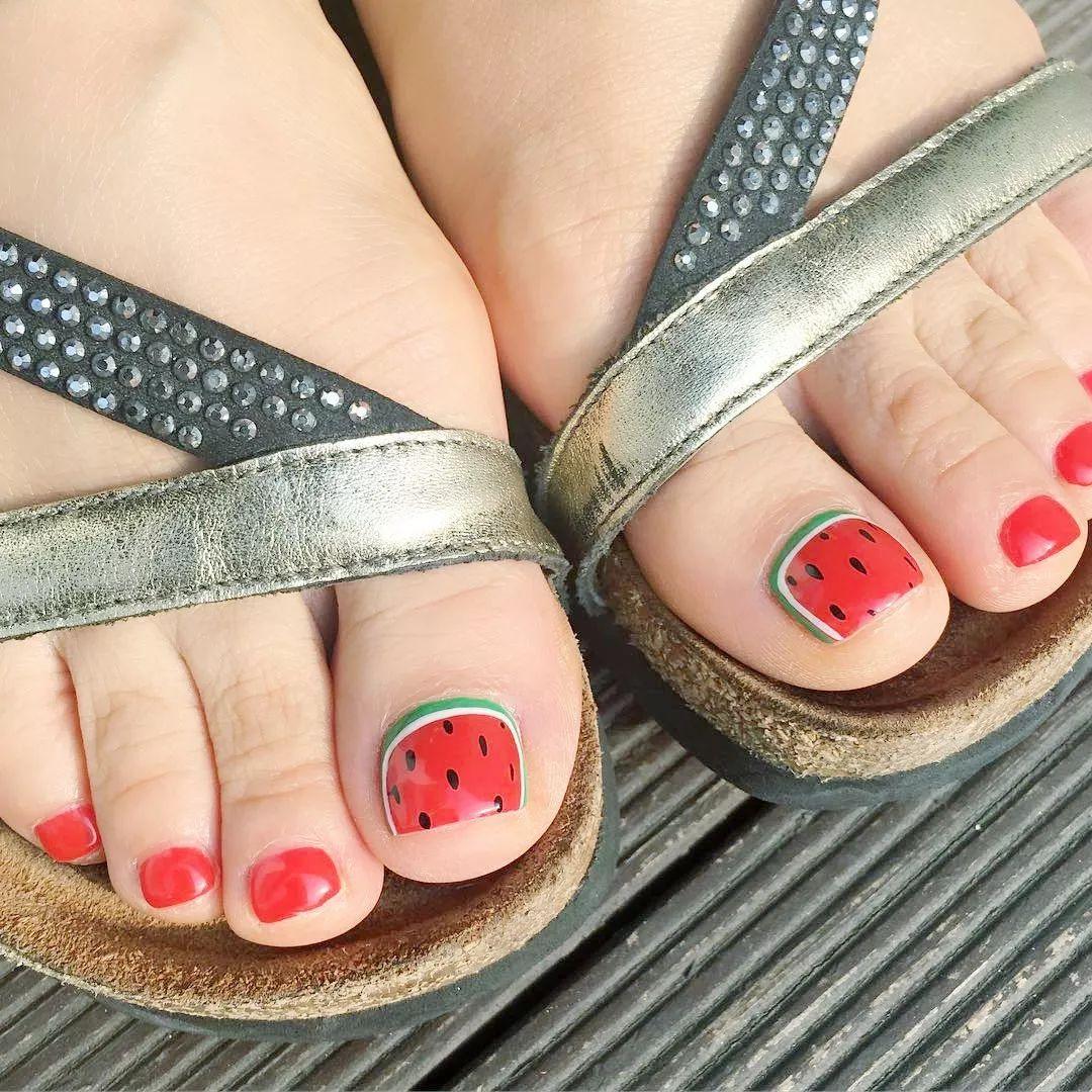 今夏不可错过的水果系脚甲~可爱!