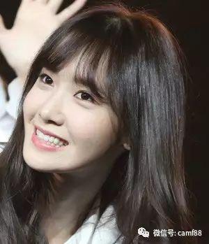 长脸女生最佳齐刘海发型设计,甜美俏皮又修颜!图片