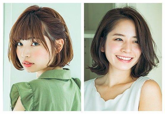 盘点50组日本超流行的长发、中长发、BOB头发型