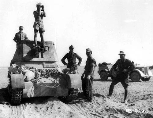 北非战场参战国图片